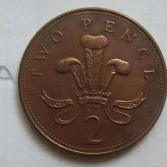 ВЕЛИКОБРИТАНИЯ 1 пенни 2004 года