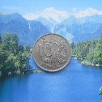 Австралия 10 центов 1983 года