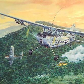 Roden - 619 - Cessna L-19/O-1 Bird Dog - 1:32