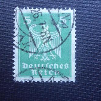 Германия 1924-25г. гаш.