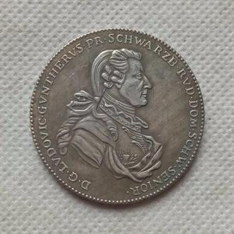 1 Талер 1786 год Германия Шварцбург - Рудольштадт - Людвиг Гюнтер II