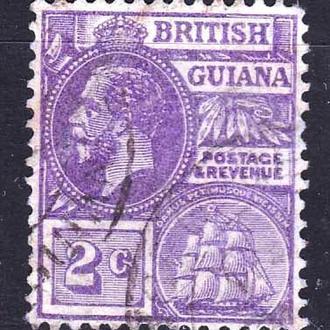 GB Колонии . Британская Гвиана 1913 г - гаш. -