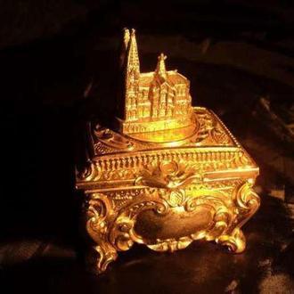 Старинная шкатулка для драгоценностей раритет антиквариат эксклюзив