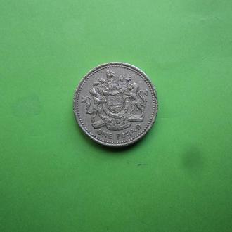 Великобритания 2003г. 1 фунт.