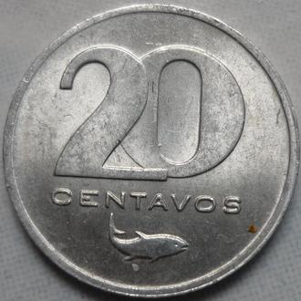 Кабо-Верде 20 сентаво 1977 состояние