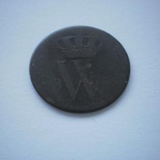 Копана монета Монеті більше 300 років Монета Баварії Бавария Мідь Монета знайдена у Західній Україні