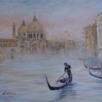 Венеция, картина, масло холст 40х50см