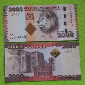 Танзания, 2000 шиллингов  , UNC