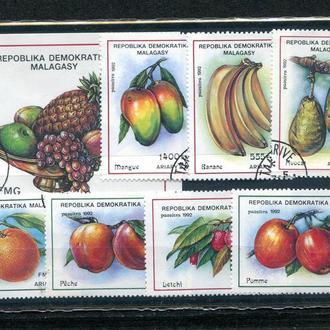 """Комплект гашеных марок Мадагаскар """"Флора"""" в оригинальной упаковке."""