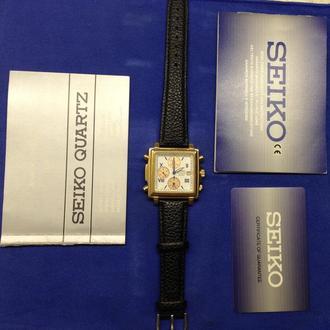 Часы SEIKO Chronograph SQ100 7T32-5A20