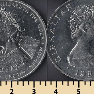 Гибралтар 1 крона 1980