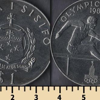 Самоа 1 тала 1980