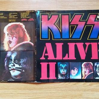 Kiss   Alive II  2LP  GF   Франция
