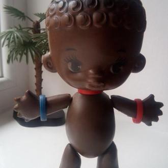 Кукла негр рельефка ф-ка Победа СССР