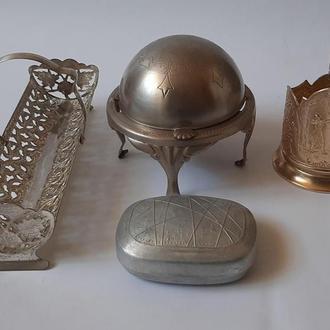 Лот металлических предметов для дома, разные года.