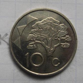 НАМИБИЯ. 10 центов 2002 г.