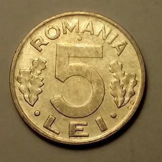 5 леев 1992 года Румыния СОСТОЯНИЕ !!! а2