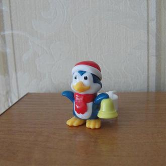 Киндер,Рождественские посланники ,2016г,пингвин