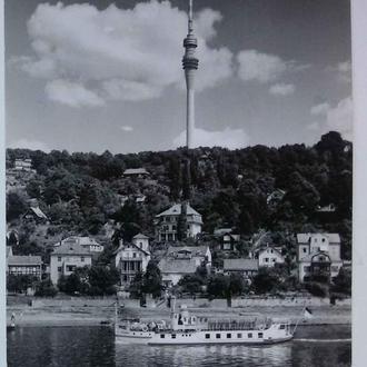 Дрезден ГДР. Вид на телевышку (1975)