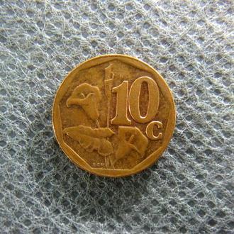ЮАР 10 центов 2012