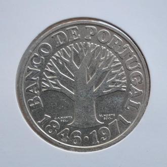 Португалия 50 эскудо 1971 г., UNC, '125 лет Банку Португалии'