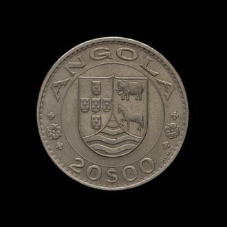 20 Эскудо 1971, Ангола Португалия