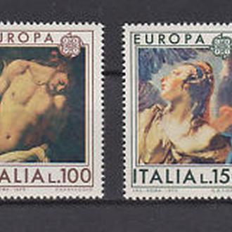Италия 1975 EUROPA CEPT Живопись