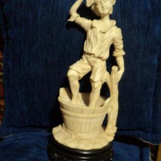 """Статуэтка """"Винодел"""" 31см из Франции старина эксклюзив раритет антиквариат статуетка"""