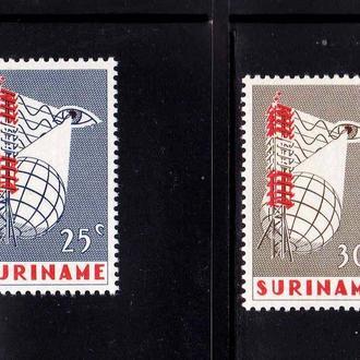 Суринам  1966 г  MNH - п/с -  TV передатчик , глаз