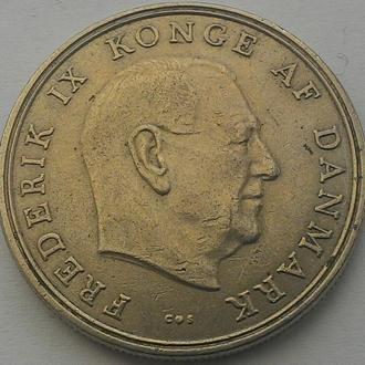 Дания 5 крон 1967 год СОСТОЯНИЕ!!
