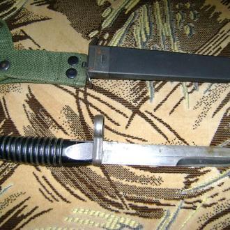 Штык-нож к автоматической винтовке G 3 (ФРГ).