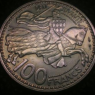 Монако 100 франков 1950 год ОТЛИЧНОЕ СОСТОЯНИЕ!!!!!!