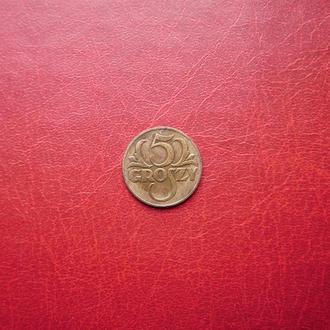 Польша 5 грош 1935