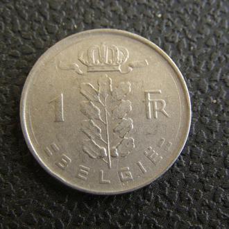 1 франк 1952г Бельгия