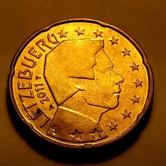 20 евро центов 2011 года, Люксембург - а