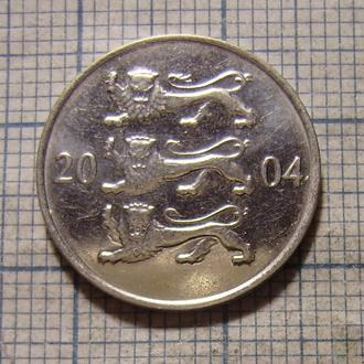 Эстония, 20 сентов 2004