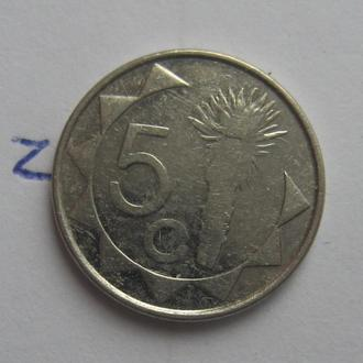 НАМИБИЯ, 5 центов 2009 года.
