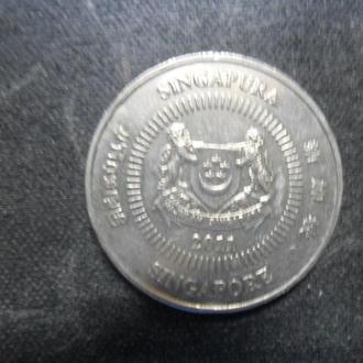 Сингапур 50 центов 2011 .