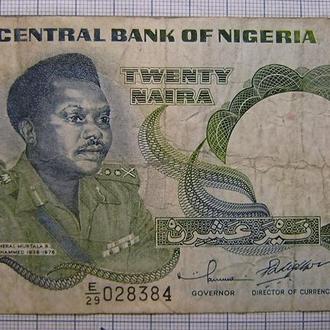 Нигерия, 20 найра, 2001 г. генерал Муртала Мухаммед (1938-1976).
