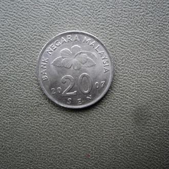Малайзия 2007г. 20 сен.