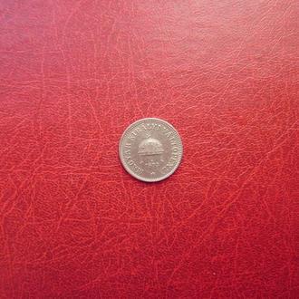 Венгрия 10 филлеров 1893