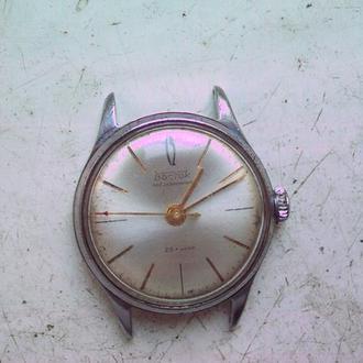 Часы Восток прецизионные,позолота