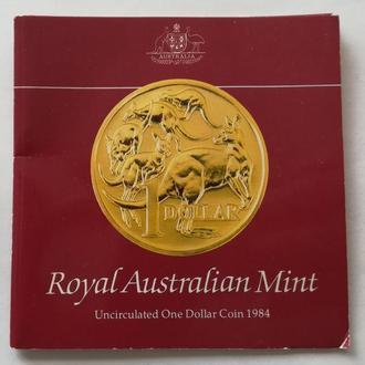 Буклет 1 доллар 1984 г Австралия