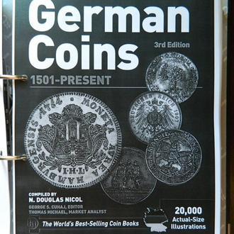 Каталог монет Германии Краузе 1501г.-наши дни 3-е издание (распечатан на принтере)