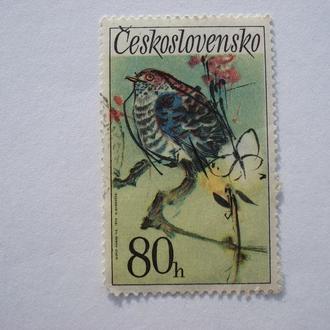 Птичка.Чехословакия 1972 год.С 1гривны