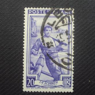 Италия 1950г. гаш.