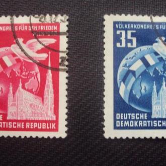 ГДР 1952г. гаш.