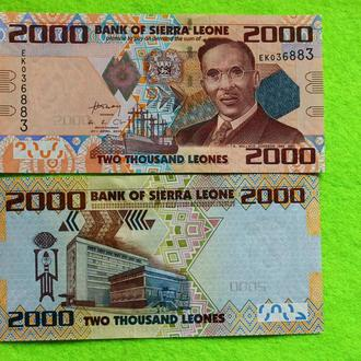 Сьерра-Леоне 2000 леоне 2010 UNC
