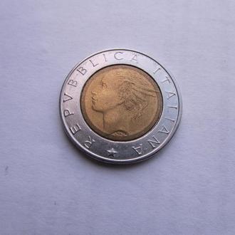 500 лир Италия 1994 год