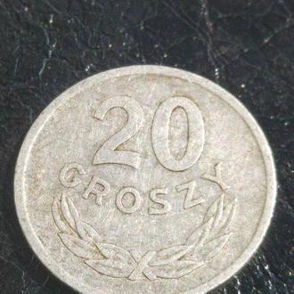 20 грошей 1973  Польща